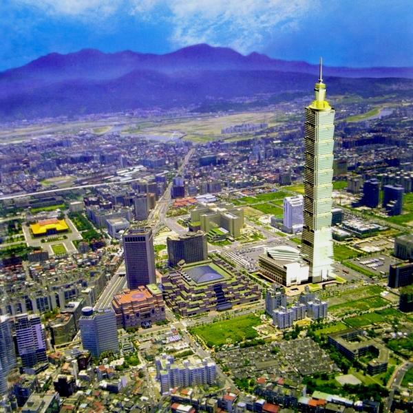2- Taipei 101 in Taiwan, 509 m