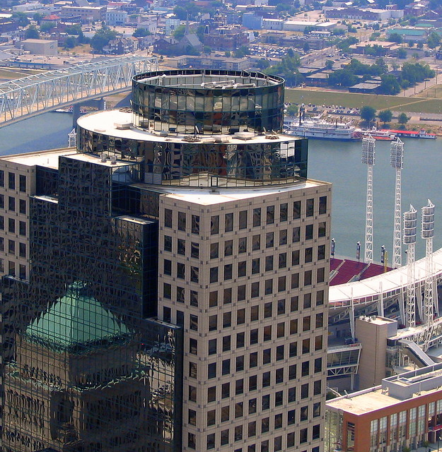 Cinergy Building's Reflection into Scripps Center