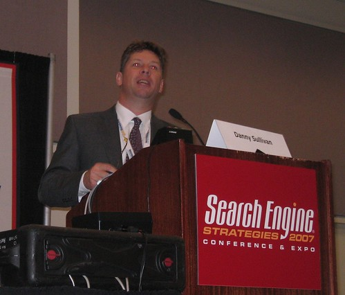 Danny Sullivan of Search Engine Land - SES San Jose 2007