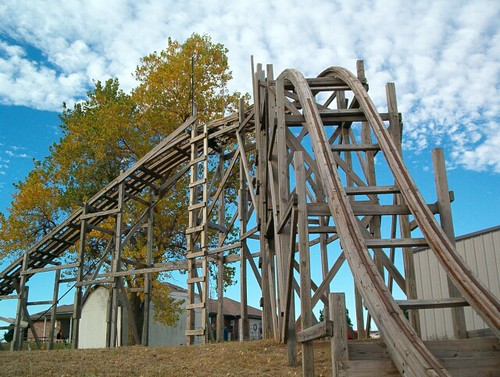 Vintage Backyard Roller Coaster : Dark Roasted Blend Worlds Wildest Roller Coasters