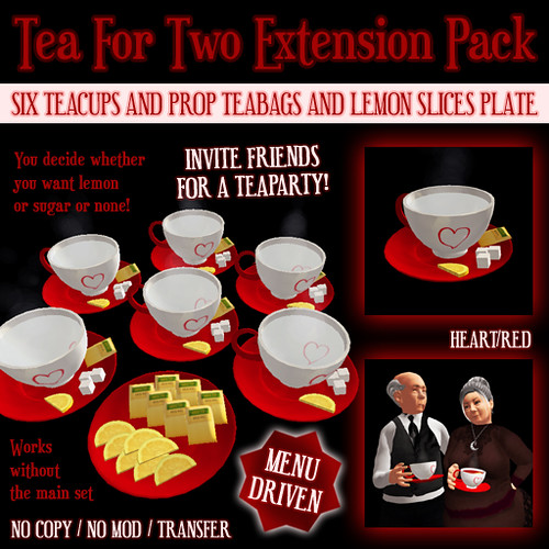 Tea For Two Extension Pack Box