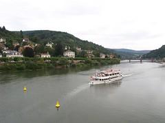 Vista del rio desde Heidelberg