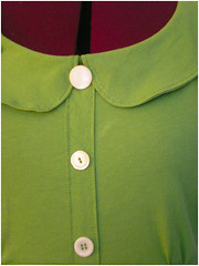famer's daughter dress - collar & buttons