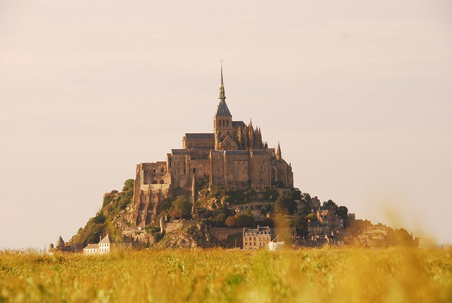 Mont Saint Michel. Tarda