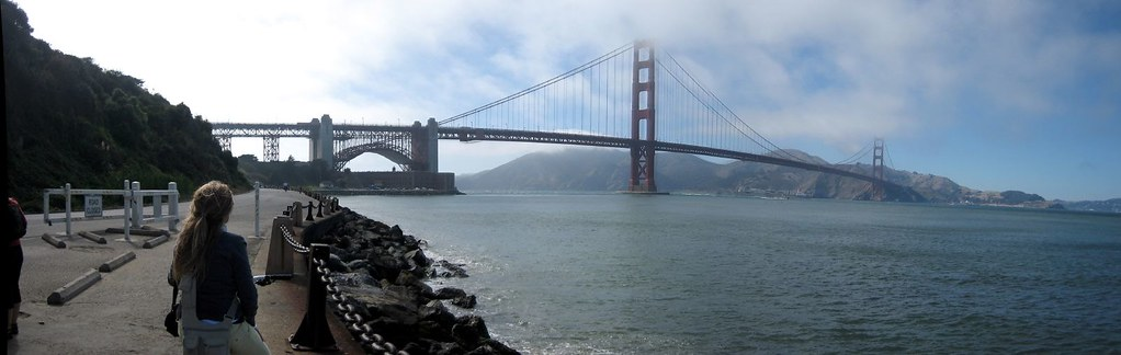 golden gate pano