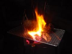 「あの肉」を焼く