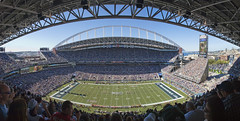 Qwest Field pano