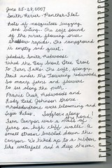 nature journal trip account