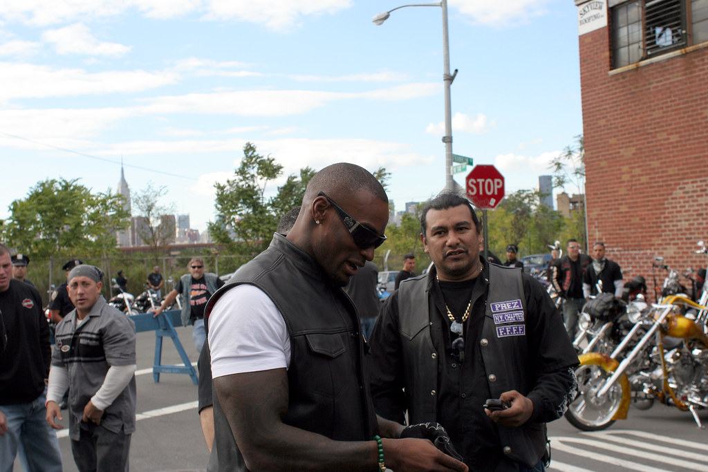 Beckford and bikers