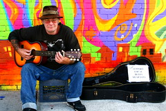 support local blues musicians