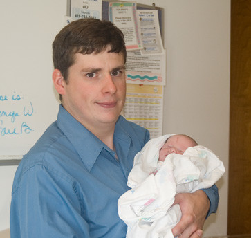 Daddy with Nathaniel