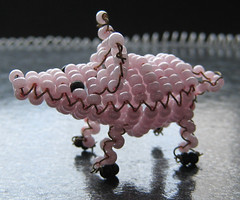 Cerdo. (naiarais) Tags: animal handmade artesania cerdo manualidades abalorios hechoamano bolitas hechopornaiara animalesdebolitas animalesdegranja