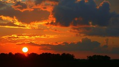 Crowley, LA Sunset (edwardleger) Tags: sunset sun parish louisiana country vivid edward soe breathtaking acadia leger crowley acadiana shieldofexcellence edwardleger edwardnleger