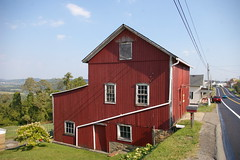 Red Barn, Scenery Hill, Pennsylvania