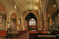 Fladbury, Worcestershire, St John the Baptist. (Tudor Barlow) Tags: england churches restoration worcestershire preedy 1871 parishchurch churchinteriors fladbury tamron1750 frederickpreedy