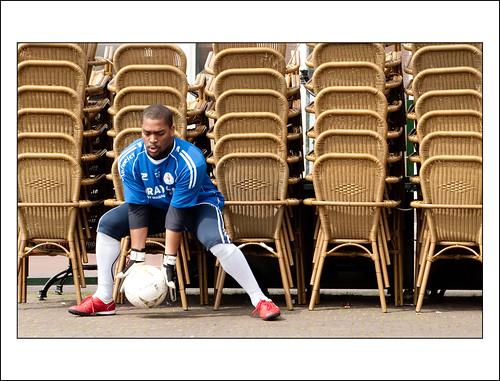 daklozenvoetbal in Leiden