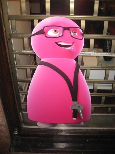 Pink Telephone Dude