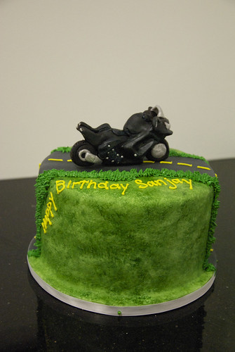Pleasant Bc4017 Motorcycle Birthday Cake A Photo On Flickriver Funny Birthday Cards Online Alyptdamsfinfo