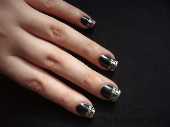 Wet n Wild Morbid Konad Imageplate M57 China Glaze 2030 Regular Polish Stamping
