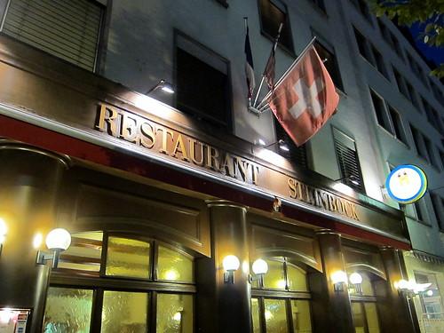 Basel - Restaurant Steinbock