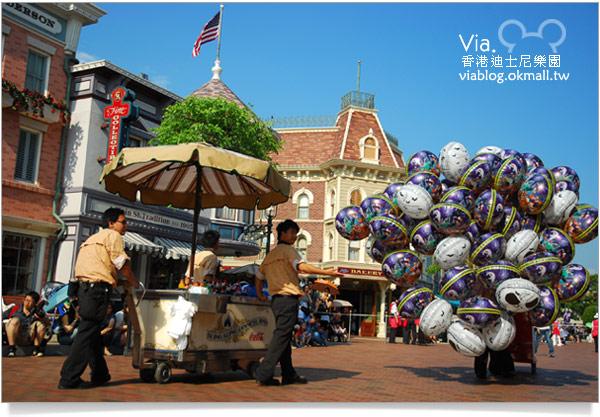 【香港迪士尼】跟著via玩香港(3)~迪士尼卡通人物歡樂巡遊2