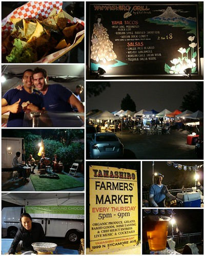 Yamashiro Farmers Market Collage
