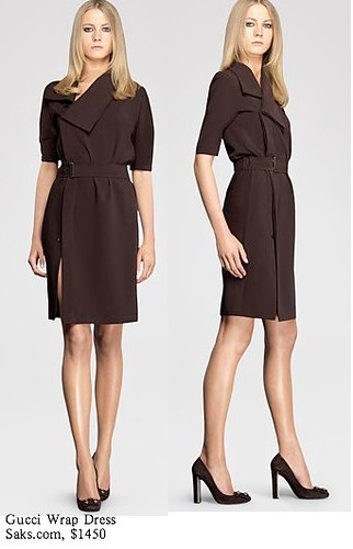 Saks.com - Gucci - Wrap Dress