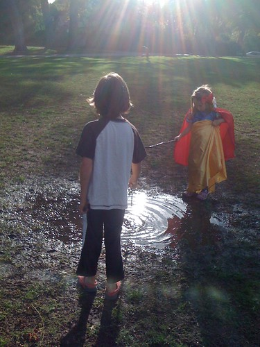 A Park, A Puddle, A Princess, A Prince