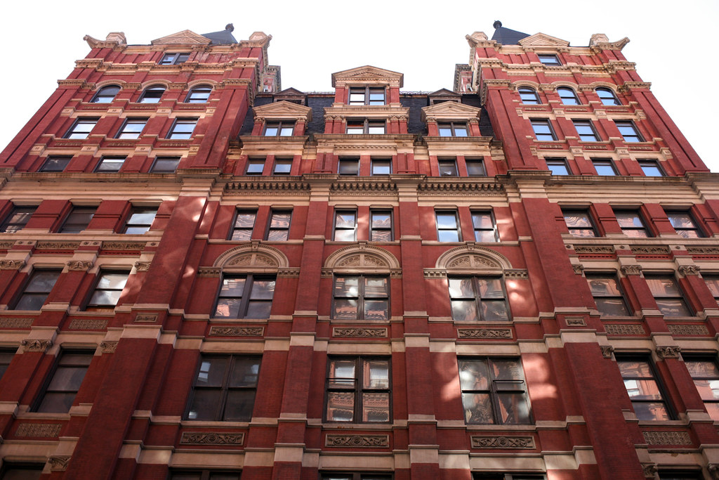 Temple Court Building 5 Beekman Street By Silliman