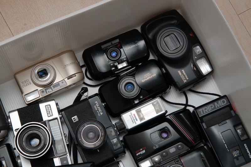 Lote com câmeras que precisam de revisão