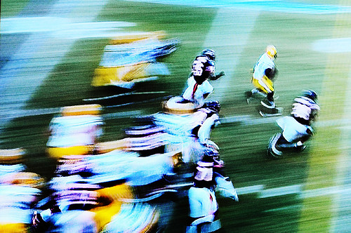 Packers Advance to the Super Bowl in a Blur of Motion