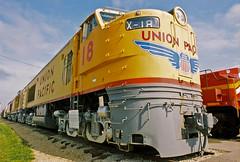 IRM - Union Pacific X-18 Gas Turbine Locomotive (contemplative imaging) Tags: railr