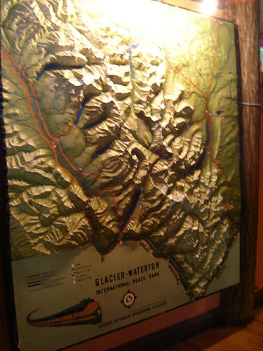 Map of the park at Lake Macdonald Lodge.