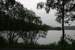 View over Loch during Trossachs Tour