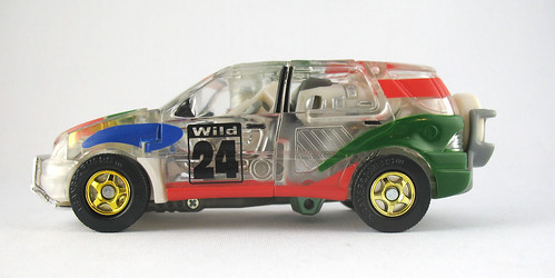 Car Robotos 2001 Osaka Toysland Exclusive Wild Rider