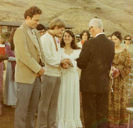 parents' wedding day