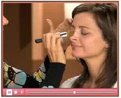 Mineral Makeup Application