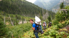 On the way up (matt semel) Tags: david mike montana sean glaciernationalpark