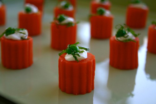carrot appetizer
