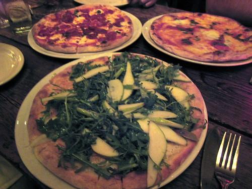 Pizzas from Dolce Vita Pizzeria Enoteca, Houston TX