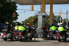 Gasin' Up (Tom Podolec) Tags: ontario canada up canon golden highway cops ride general police headquarters gas hwy mc riding motorcycle 12 dslr 70200 fuel filling orillia provincial riders helmets opp 30d zxcv ©allrightsreserved news46 200709131637130025 thisimagemaynotbeusedinanywaywithoutpriorpermission ©20062008