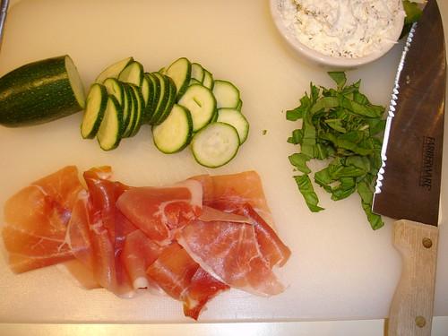 Preparing a Food Network Recipe