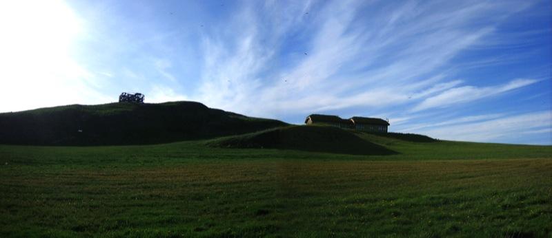 Viðey2006 - Skýjafar