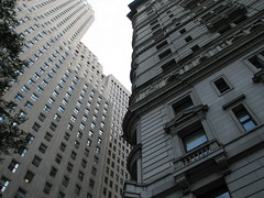 1 Wall Street and Empire Building by epicharmus, on Flickr