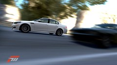 BMW M5 racing (jsayer) Tags: road light blackandwhite white black blur game car backlight contrast race speed corner dark lights drive screenshot cool focus shiny exposure track driving shine steering spin calm racing forza saturation bmw driver rearlights tilt fm circuit lead m5 brightness turning brakelight tilted winning drifting drift rotated brakelights 5series rotate spun whizz backlights fm3 mpower forzamotorsport rearlight overtake bmw5series worldcars inthelead forzamotorsport3 forza3