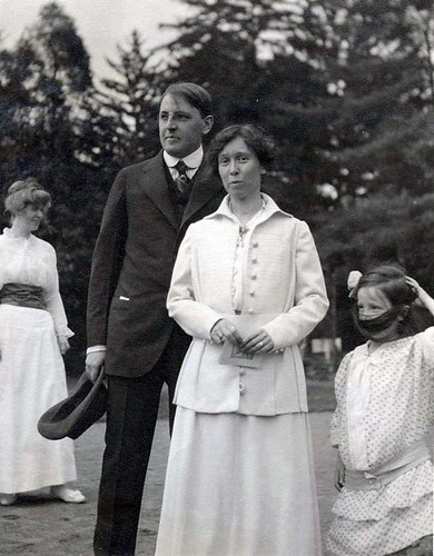 Maisry with her mother and father, early in his presidency