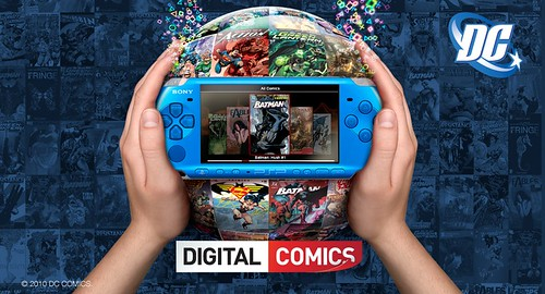 DC Comics Now Available on the PlayStation Network for PSP