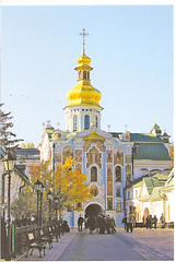 UKRAINE-CHURCH-POST CARD2