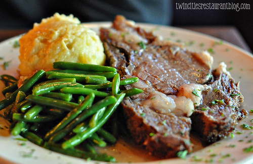Saturday Prime Rib Special at Cork's Irish Pub ~ St Paul, MN