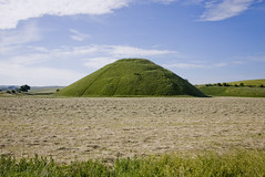Silbury Hill, Wiltshire (on a sunny after-summer-solstice day) (vintagedept) Tags: world summer england heritage history monument britain hill sunny unesco mound prehistoric neolithic silbury wilthshire heritagekey summersolstice2010